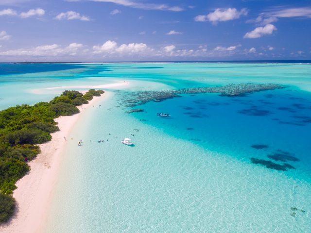 Малдиви плаж